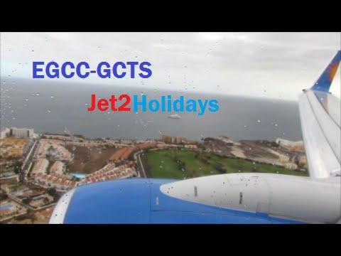 Full Flight - Jet2Holidays 737-800 Manchester - Tenerife South