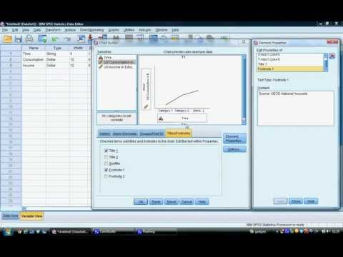 Tutorial 3 - Geneating Line Graphs in SPSS