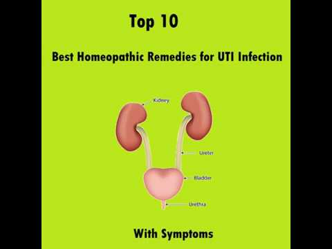 Homeopathic Remedies For UTI Treatment - 100% Cure