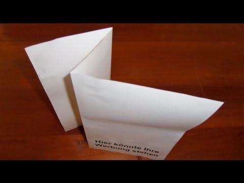 Pläne richtig falten - nach DIN 824 (A3) mit Heftrand