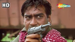 Ajay Devgn & Saif Ali Khan run aways from Cops - Action scene from Kachche Dhaage - Hit Action Movie