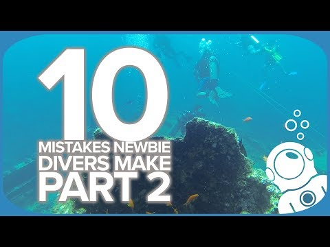 10 Mistakes Newbie Divers Make Part 2