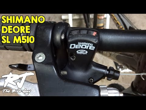 How To Replace Shift Cable On Shimano Deore SL-M510 Trigger Shifters