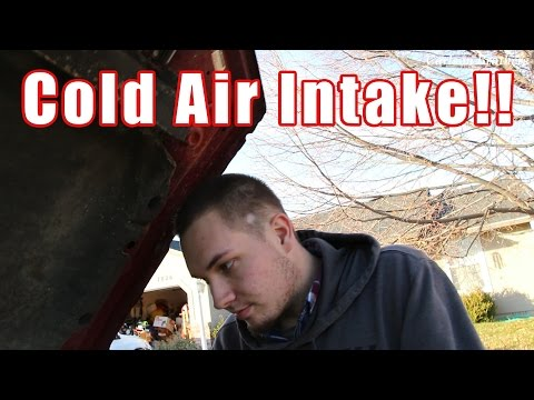 How Not To Install A Cold Air Intake On A Ford F150