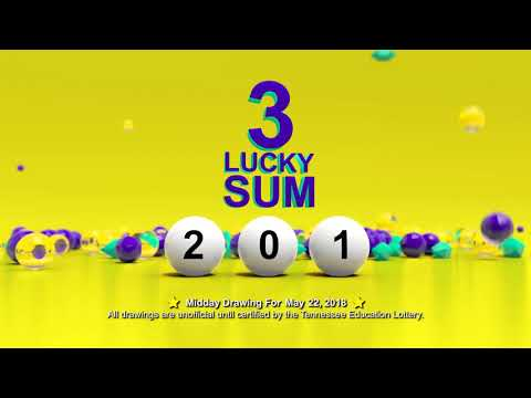 Tennessee Lottery Midday_C3_C4_LS 05/22/2018
