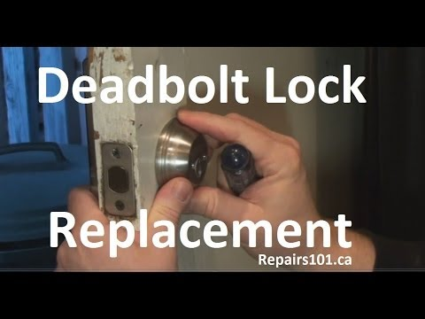 Deadbolt Lock Replacement