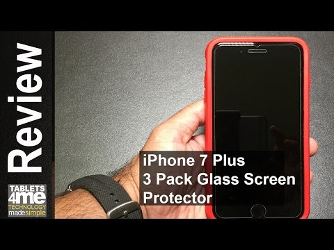 Best iPhone 7 Plus Tempered Glass Screen Protector!  3 under $20 bucks