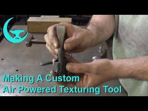 Making A Custom Air Powered Texturing Tool