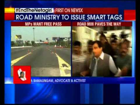 Members of Parliament to get smart tags for toll-free passage