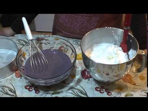 How to make a Purple Yam Cake - Ube Cake