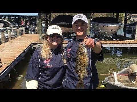 Smith Mountain Lake College Fishing Tournament -- Emory & Henry Bass Fishing