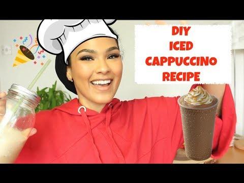 DIY ICED CAPPUCCINO! SO DELISH