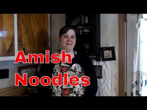 How to make Amish Egg  Noodles