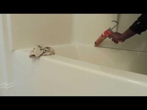 DIY How to re caulk bath tub