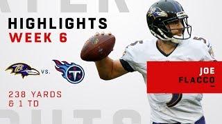 Joe Flacco Highlights vs. Titans