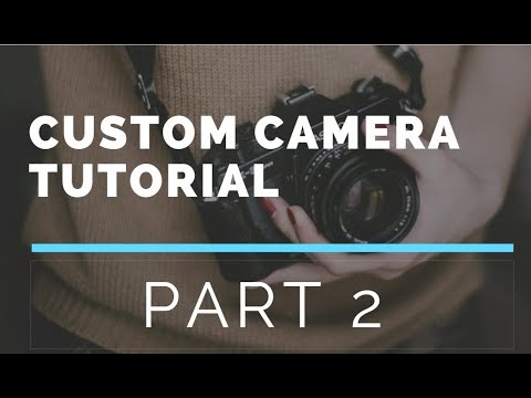 Custom Camera API using Android Studio Part 2 (Display Resolution)