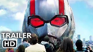 ANT MAN 2 Official Trailer (2018) Paul Rudd, Evangeline Lilly, Action Movie HD