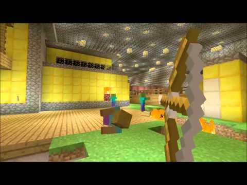 Minecraft xbox Nuketown Zombies