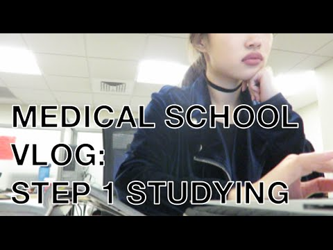 Typical Day of a Medical School Student Studying for Step 1
