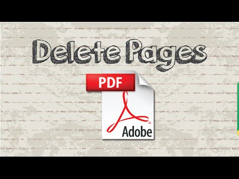 How to delete pages from PDF file Online