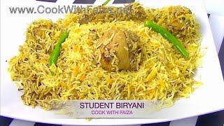 STUDENT BIRYANI *COOK WITH FAIZA*