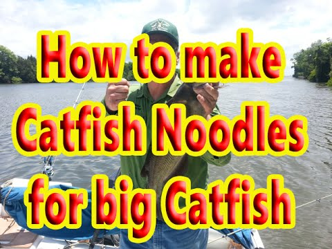 How to make Catfishing Jugs / or Noodles for Catfishing