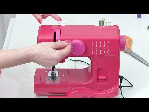 How to thread a sewing machine - Mini JL Janome