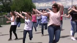 Best Arabic Dance  Flashmob In Austria - Dans Superb