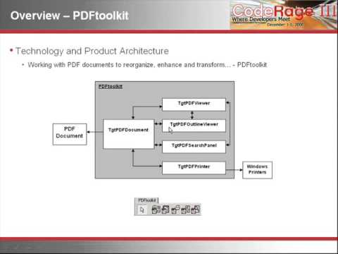 Gnostice - CodeRage 3 - Working with PDF documents using Delphi and Gnostice Tools