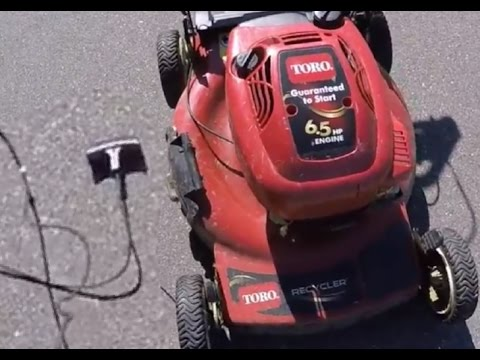 How To Fix A Broken Pull Start Cord On A TORO 6.5