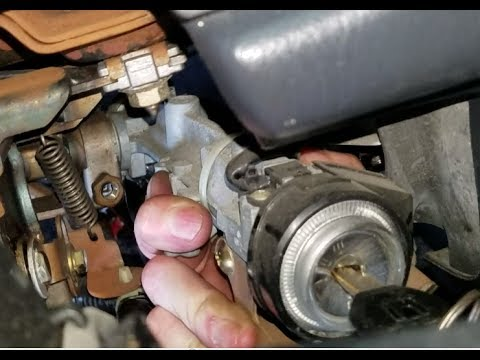 CRV Ignition How to Replace Assembly - walkthru