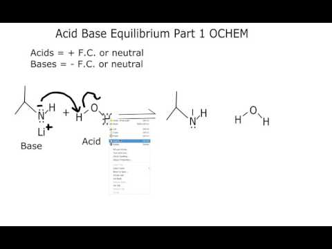 Which side of an Acid Base Reaction is favored Organic Chemistry (Part 1)