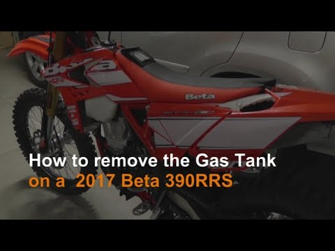 How to Remove a Gas Tank from a 2017 Beta 390RRS
