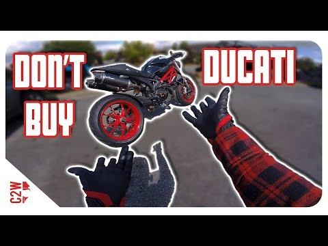 Reasons why you SHOULD NOT buy a DUCATI