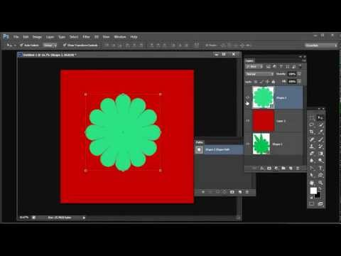 Shapes, Paths, Vectors and Selections in Photoshop