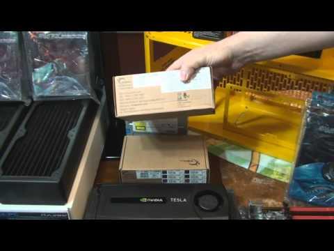 Client Build 5:  Personal Super Computer 2011 (SR-2 X5690 Intel 510 GTX590 Nvidia Tesla)