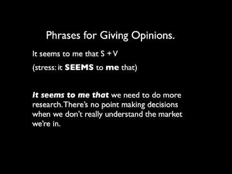 Meeting Basics: How to Give Opinions in English.mp4