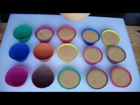 Making Holly Jolly Cupcake Soaps