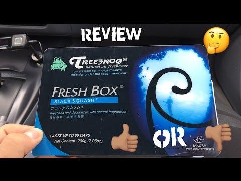 TreeFrog Fresh Box: Black Squash Review!! || Lady Driven