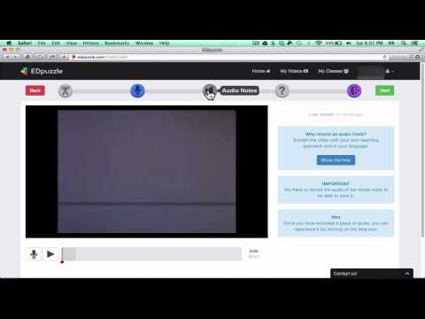 EDpuzzle - Add Questions to YouTube Videos 2014 Tutorial