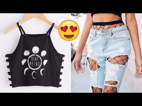 лайфхаки с одеждой для девушек,стильных идей переделки одежды Идеи которые нужно знать