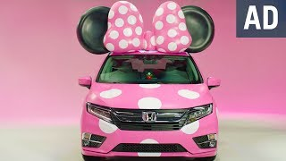 Unveiling the Minnie Van presented by Honda Odyssey   Disney