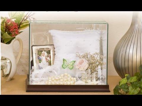 Wedding Bouquet Display Box