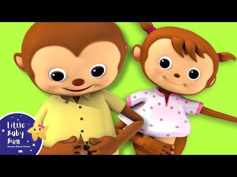 Getting Dressed Song   UK Version   Nursery Rhymes by LittleBabyBum!