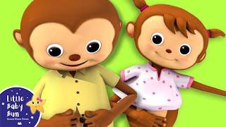Belajar Memakai Baju Sendiri | UK Version | Nursery Rhymes oleh LittleBabyBum!