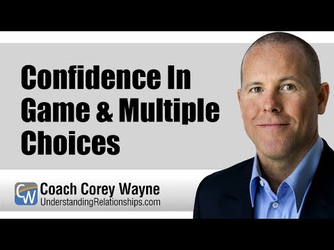 Confidence In Game & Multiple Choices