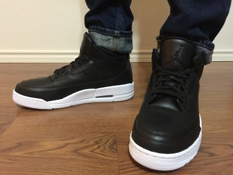 Jordan Retro 3 Cyber Monday Black/White unboxing and on feet review
