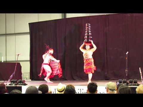 Banga -Salidsid Philippines Dance with Pots on Head