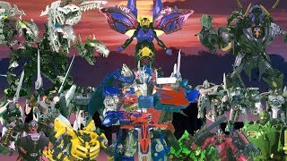 Transformers The Last Knight Stop Motion Part 2 | Optimus and Megatron VS Quintessa |