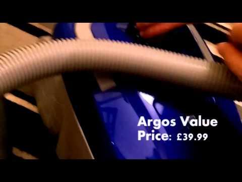 VAX Power 7 2400W vs ... Argos Value no-name vacuum cleaner.